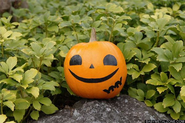 ゆいちゃん風ハロウィンかぼちゃ